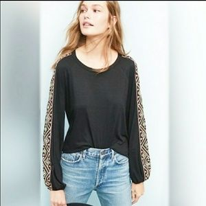 W5 by Anthropologie Murray Embroidered Long Sleeve